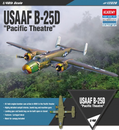 USAAF B-25D Pacific Theatre (Limited Edition)