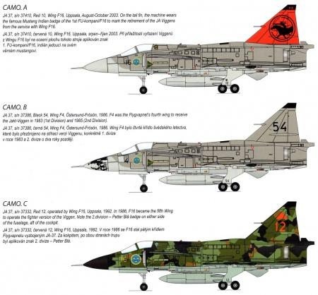 JA-37 Viggen Fighter (1971-2005)